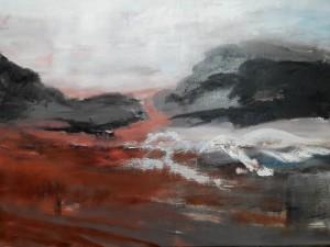 """Wvznr.1416W,  """"aus der Serie 20 neue Landschaften""""Nr.4,"""